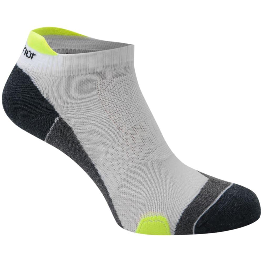 KARRIMOR Men's Running Socks, 2 Pack - WHT/FLUO