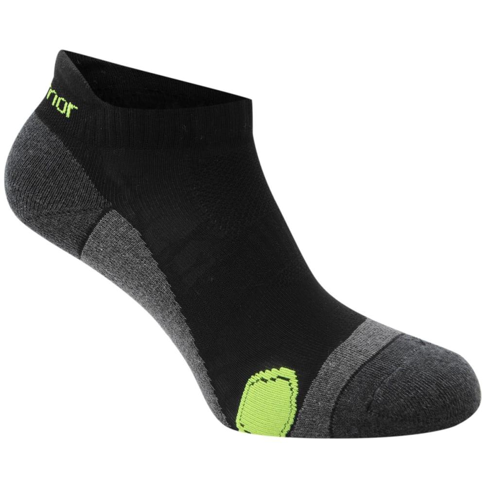 KARRIMOR Men's Running Socks, 2 Pack - BLACK/FLUO
