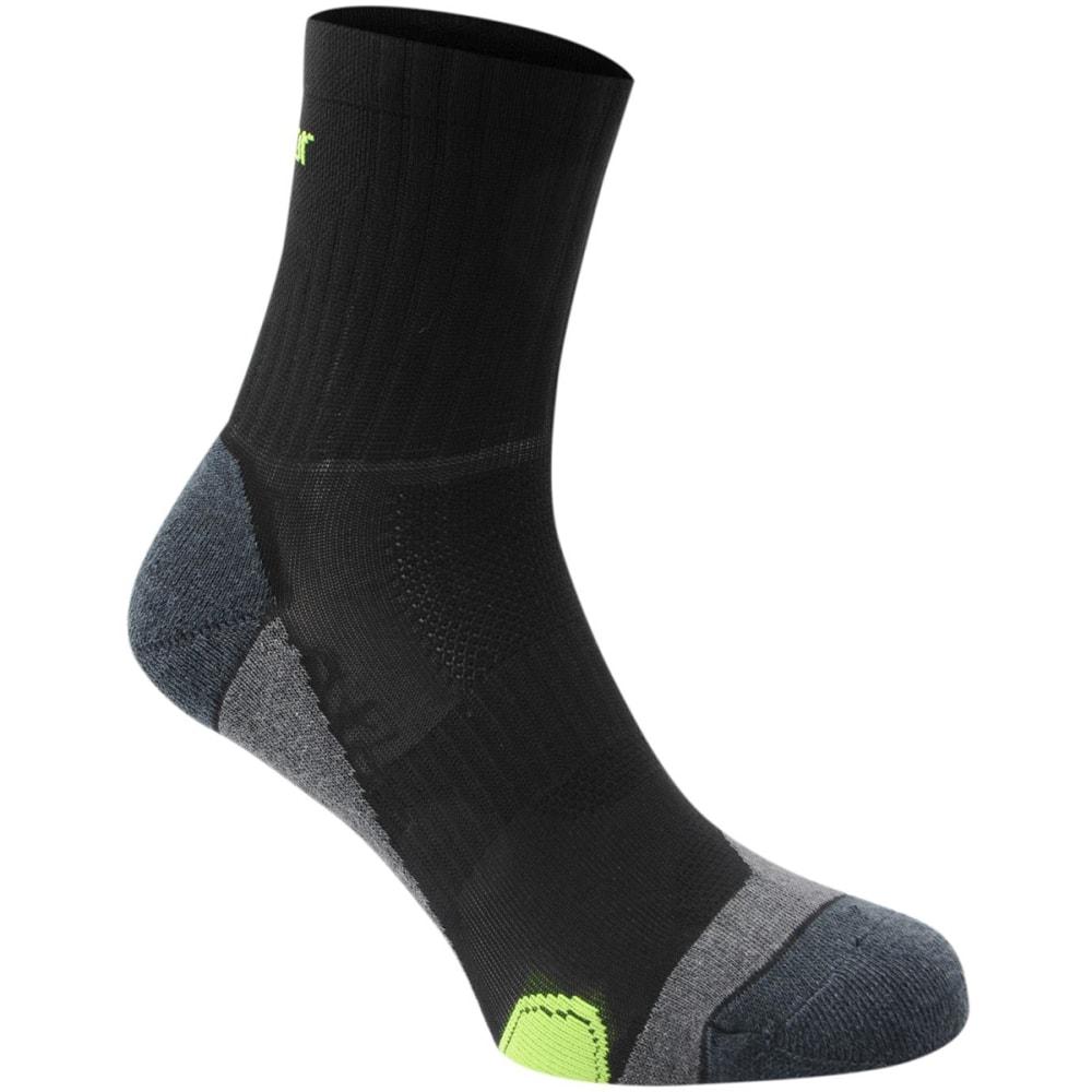 KARRIMOR Men's Dri Skin Running Socks, 2 Pack - BLK/FLUO