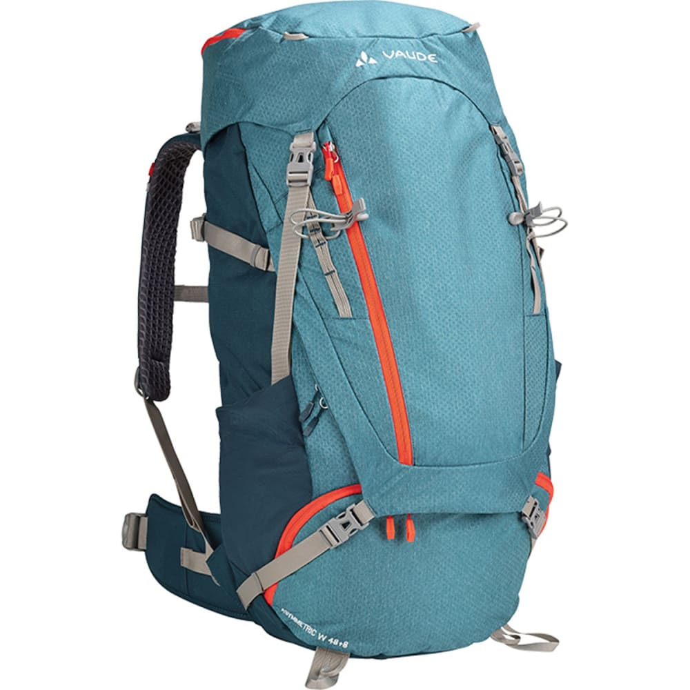 VAUDE Women's Asymmetric 48+8 Backpack  - BLUE