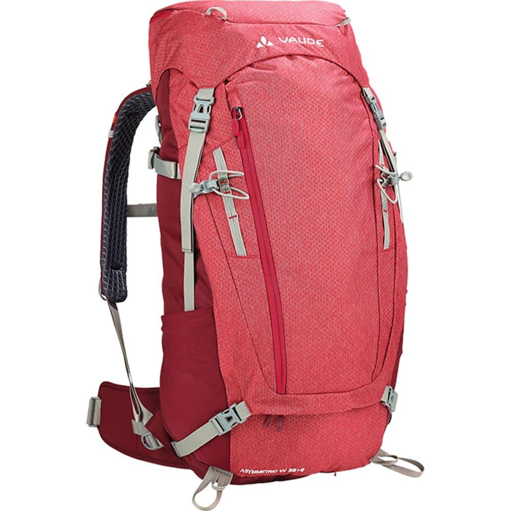 VAUDE Women's Asymmetric 48+8 Backpack - RED