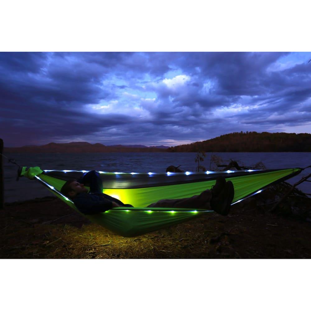 ENO DoubleNest LED Hammock - GREY/NEON DL125