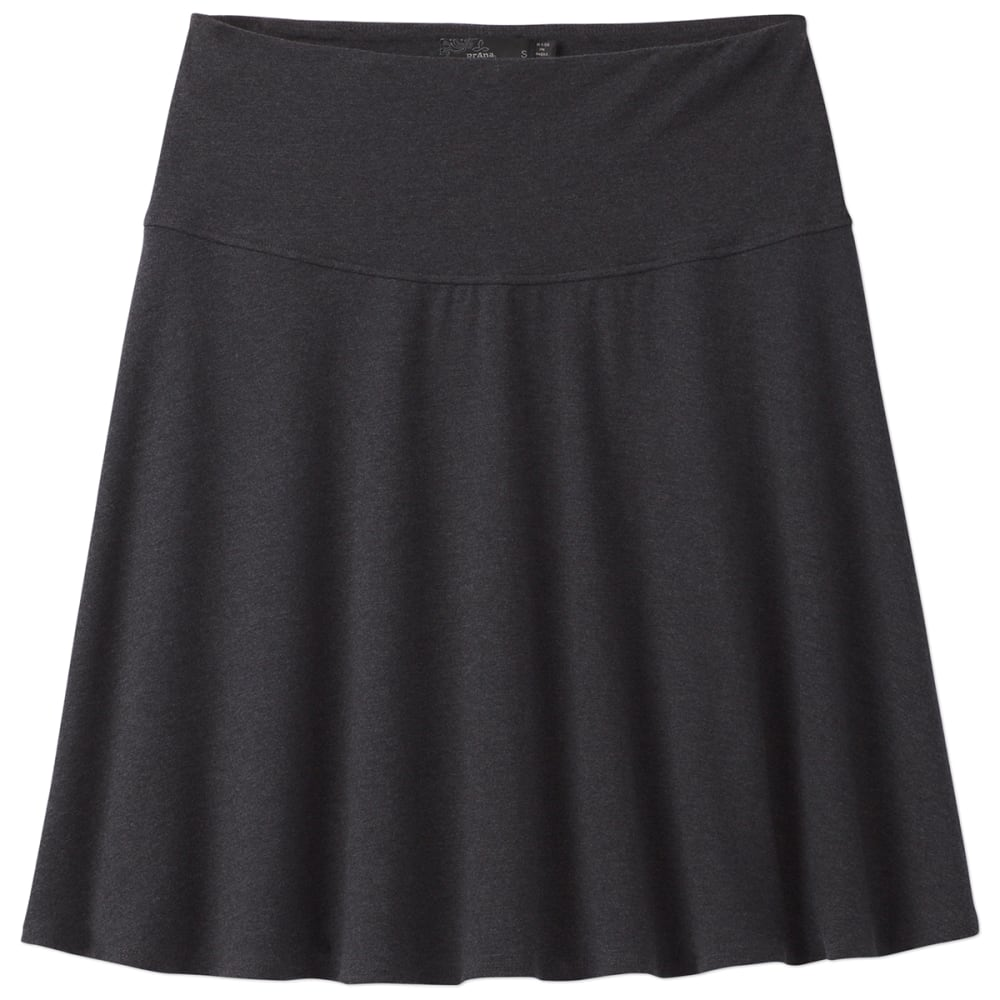 PRANA Women's Taj Skirt - BLK-BLACK