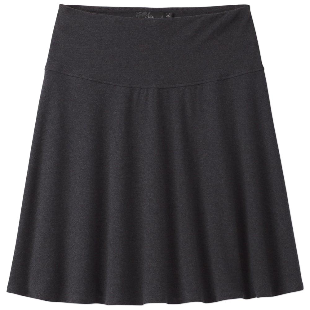 PRANA Women's Taj Skirt - BLK-BLACK