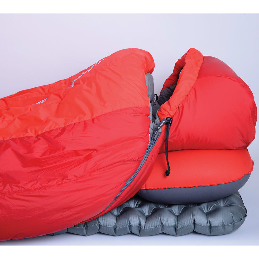 SEA TO SUMMIT Basecamp Thermolite BT3 18 Sleeping Bag, Regular - RED