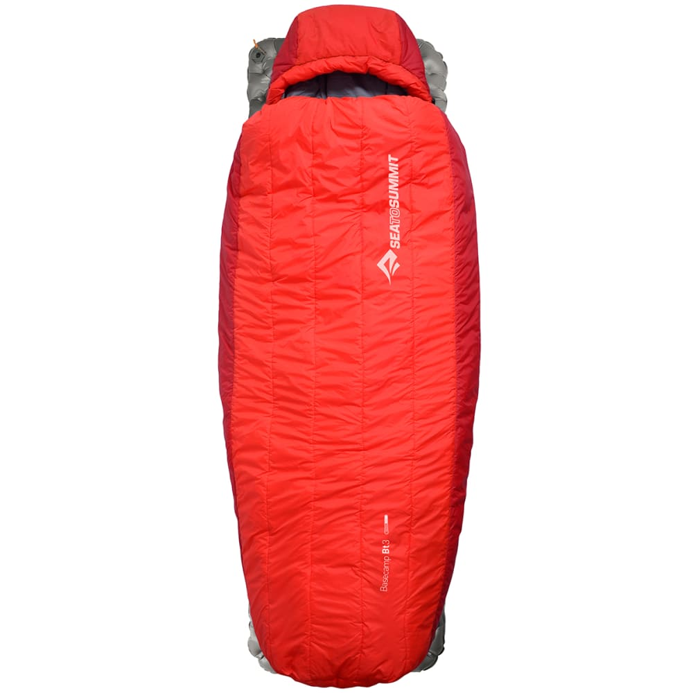 SEA TO SUMMIT Basecamp Thermolite BT3 18 Sleeping Bag, Long - RED