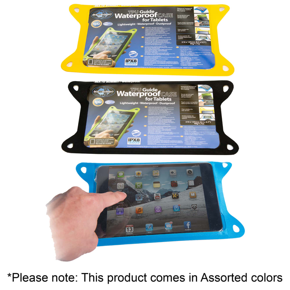 SEA TO SUMMIT TPU Guide Waterproof Case for Tablets, Small - ASSORTED
