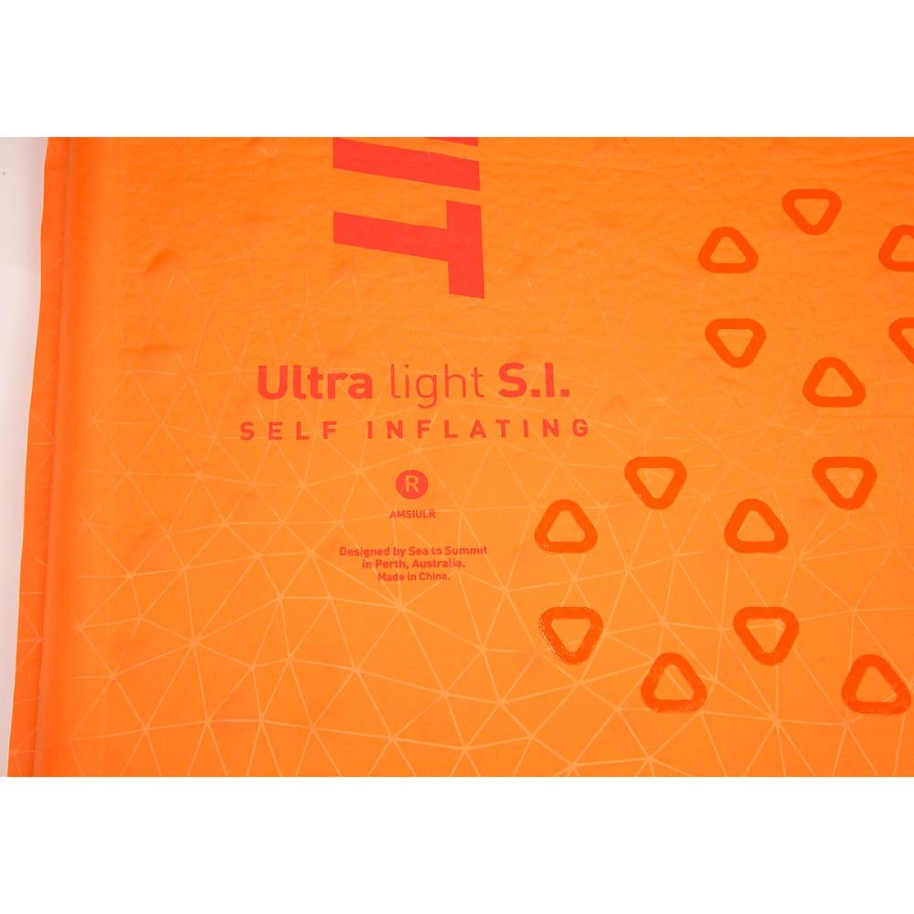 SEA TO SUMMIT Ultralight SI Sleep Mat, Small - ORANGE