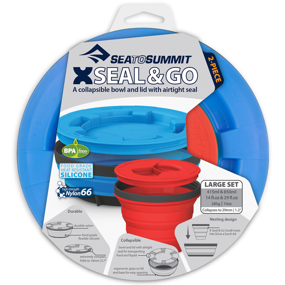 SEA TO SUMMIT X-Seal & Go Large Set - RED/ROYAL-36