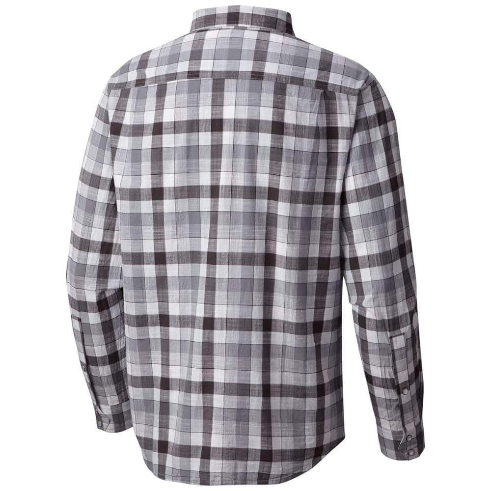 COLUMBIA Men's Leadville Ridge Long-Sleeve Shirt - 010-BLACK CHECK