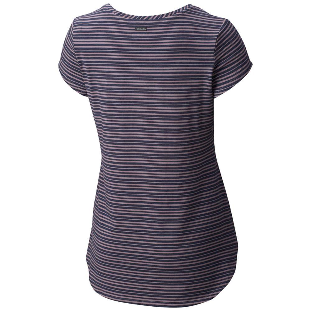 COLUMBIA Women's All Who Wander™ Short-Sleeve Shirt - 533-SPARROW HTHR STR