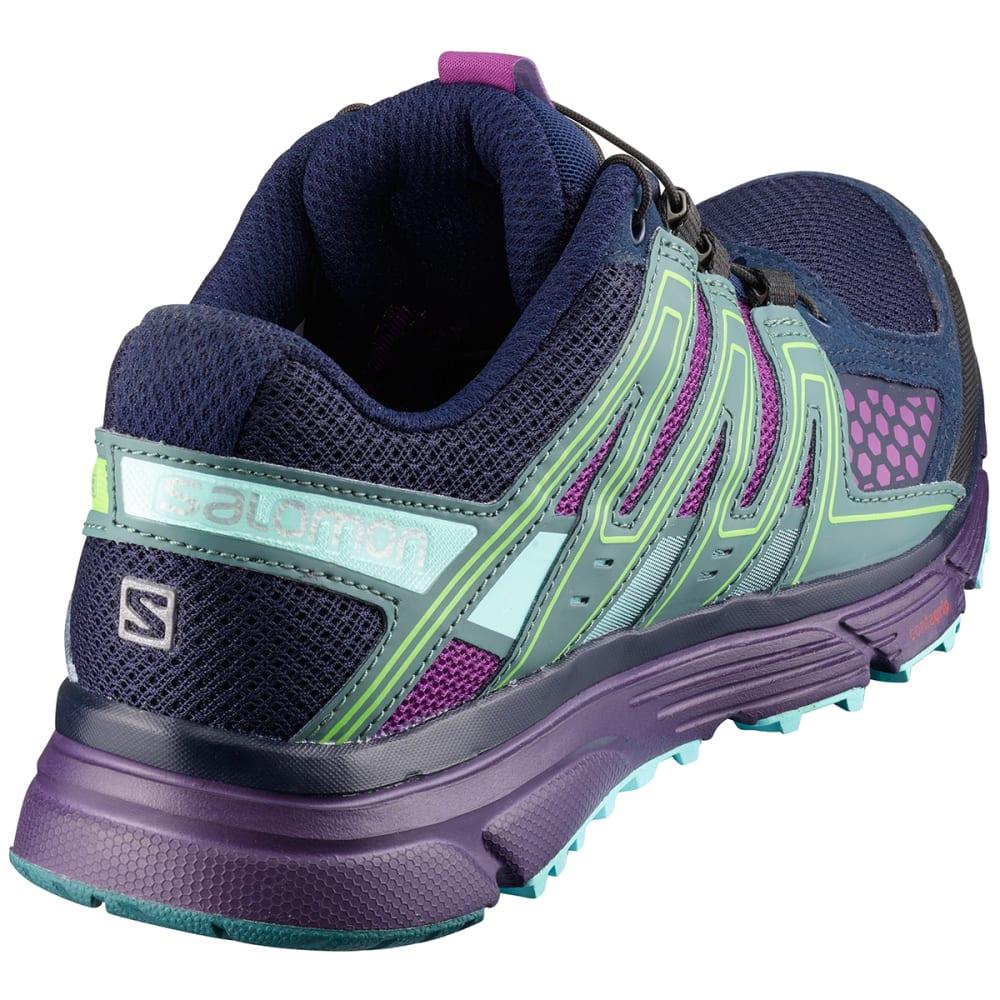 SALOMON Women's X Mission 3 Trail Running Shoes, Navy BlazerGrape JuiceNorth Atlantic