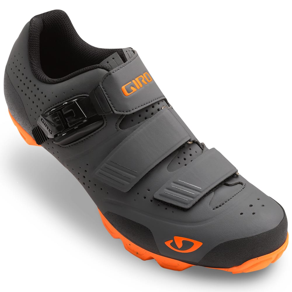 GIRO Men's Privateer R Cycling Shoes - DARK SHADOW/FLAME