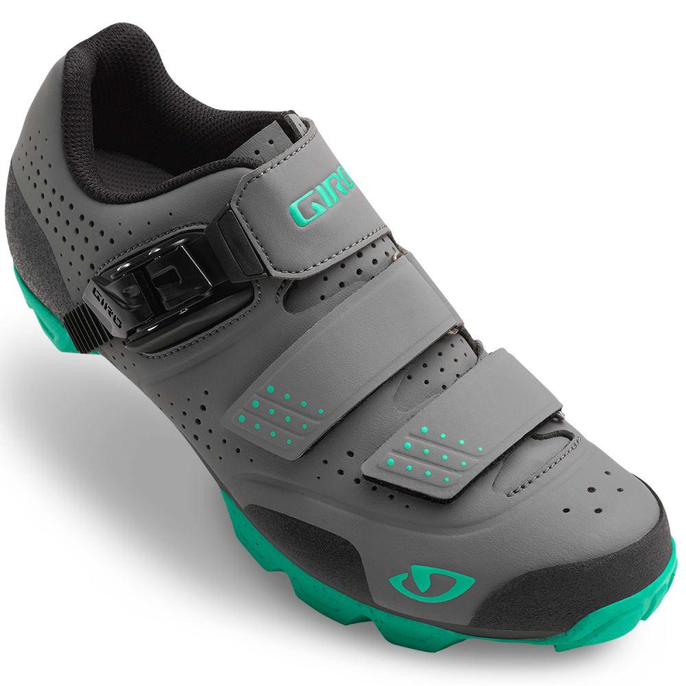 GIRO Women's Manta™ R Cycling Shoes - CHARCOAL/TURQUOISE