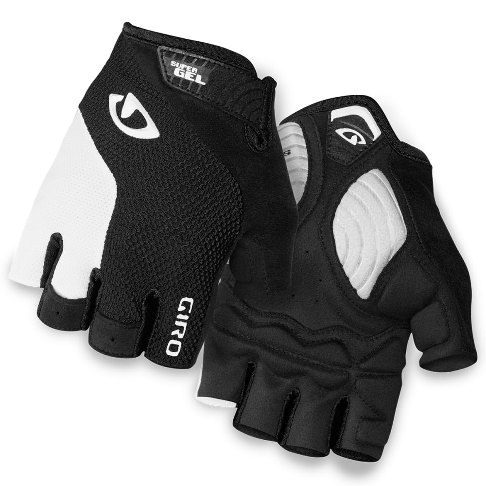 GIRO Men's Strade Dure Supergel Cycling Gloves - WHITE