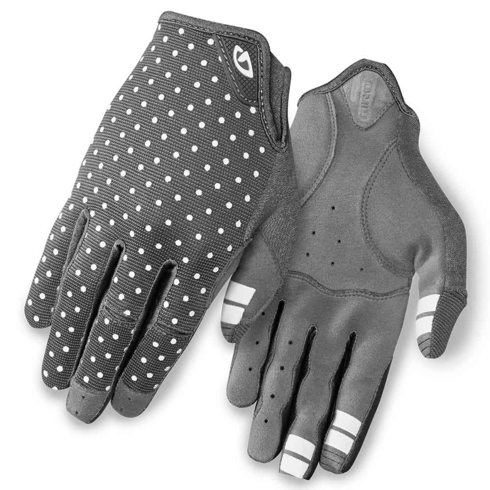 GIRO Women's La DND Cycling Gloves - DARK SHADOW/DOTS