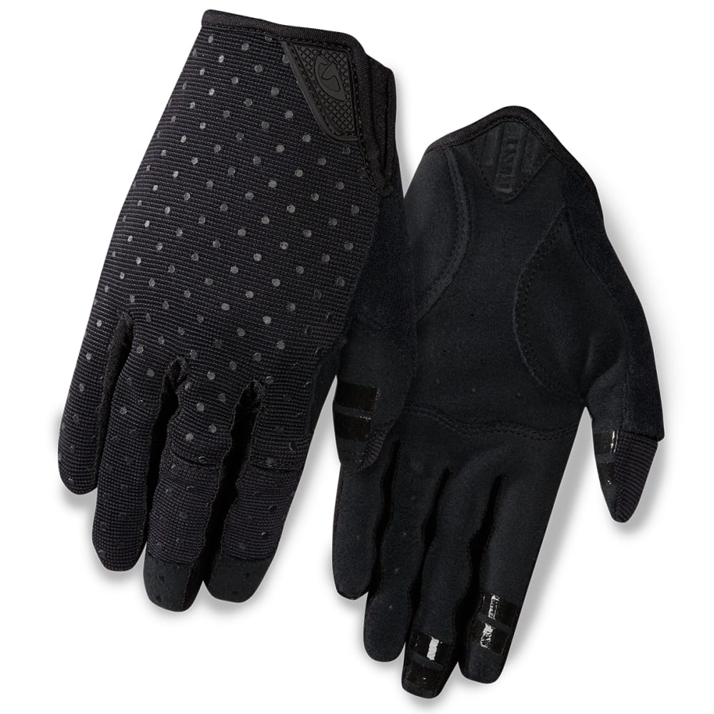 GIRO Women's La DND Cycling Gloves - BLACK DOTS