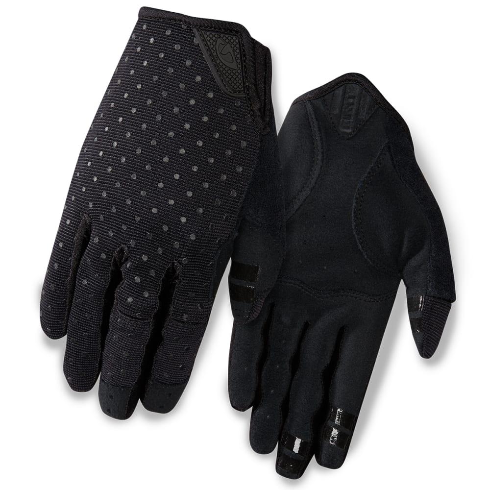 GIRO Women's La DND Cycling Gloves - BLACK DOTS
