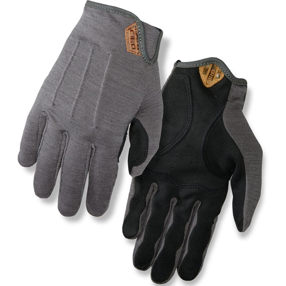 GIRO Men's 2017 Titanium D'Wool Gloves - TITANIUM