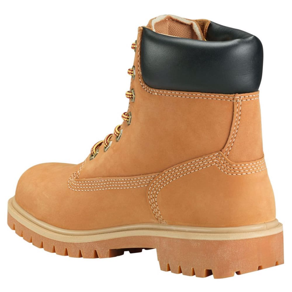 TIMBERLAND PRO Women's 6 in. Direct Attach Waterproof Insulated Steel Toe Work Boots, Wheat Nubuck