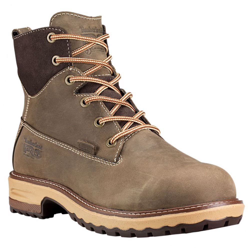 TIMBERLAND PRO Women's 6 in. Hightower Waterproof Alloy Toe Work Boots 7