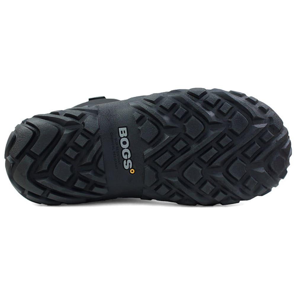 BOGS Men's 13 in. Workman Waterproof Composite Toe Work Boots, Black - BLACK