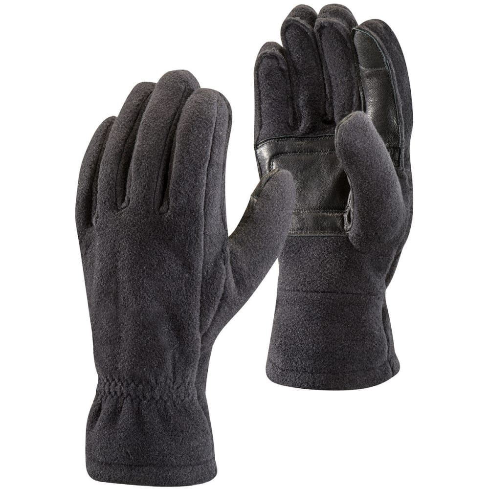 BLACK DIAMOND Men's Midweight Fleece Gloves - BLACK