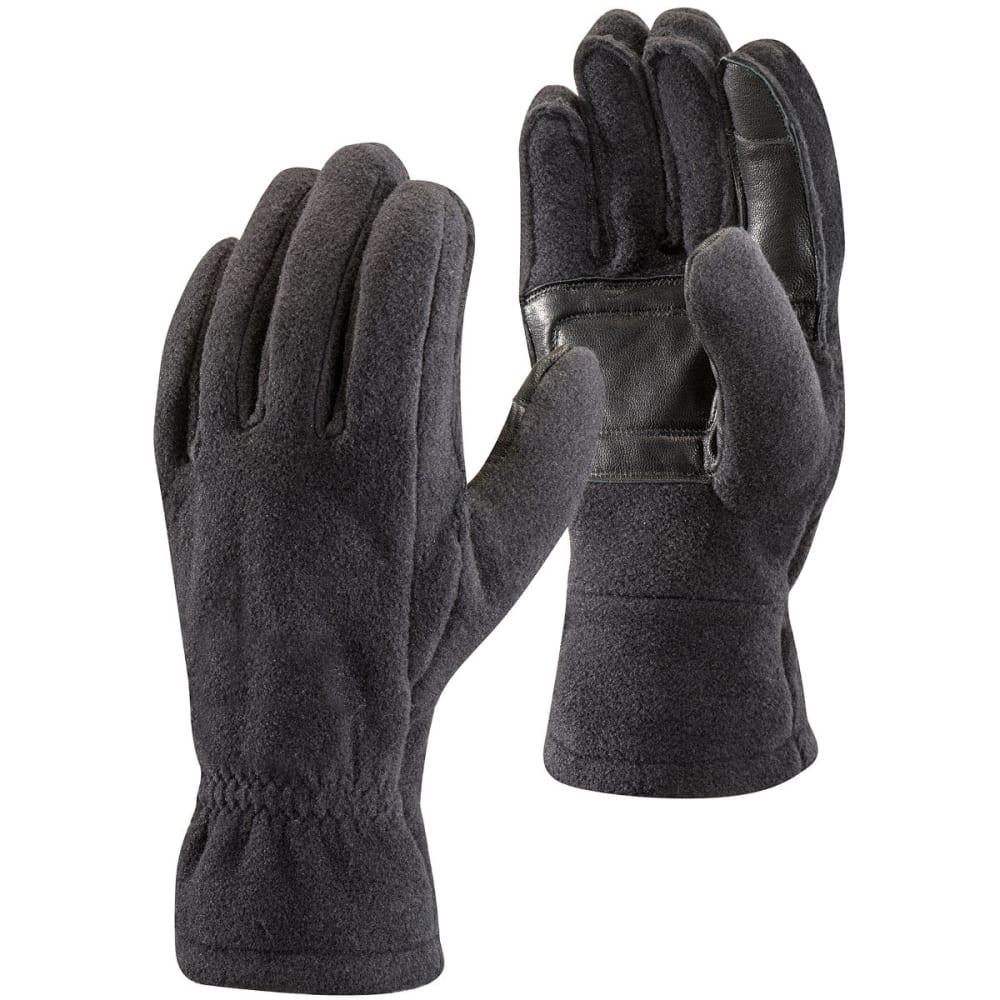BLACK DIAMOND Men's Midweight Fleece Gloves - BLACK