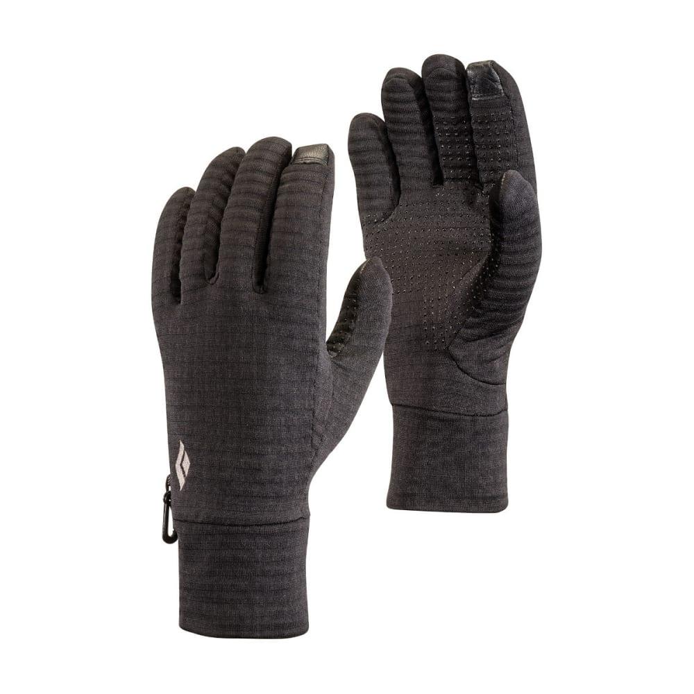 BLACK DIAMOND Men's Lightweight Gridtech Fleece Gloves - BLACK