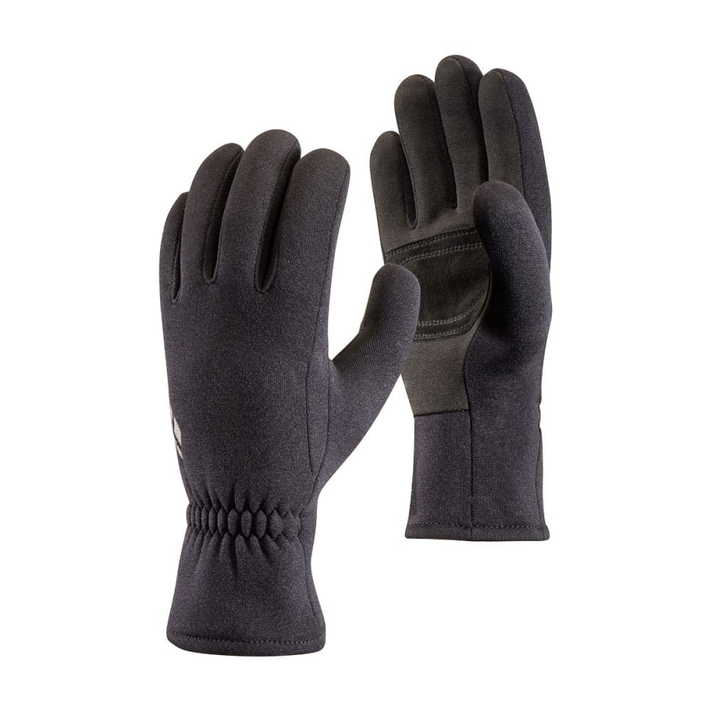 BLACK DIAMOND Men's Screentap Fleece Gloves - BLACK