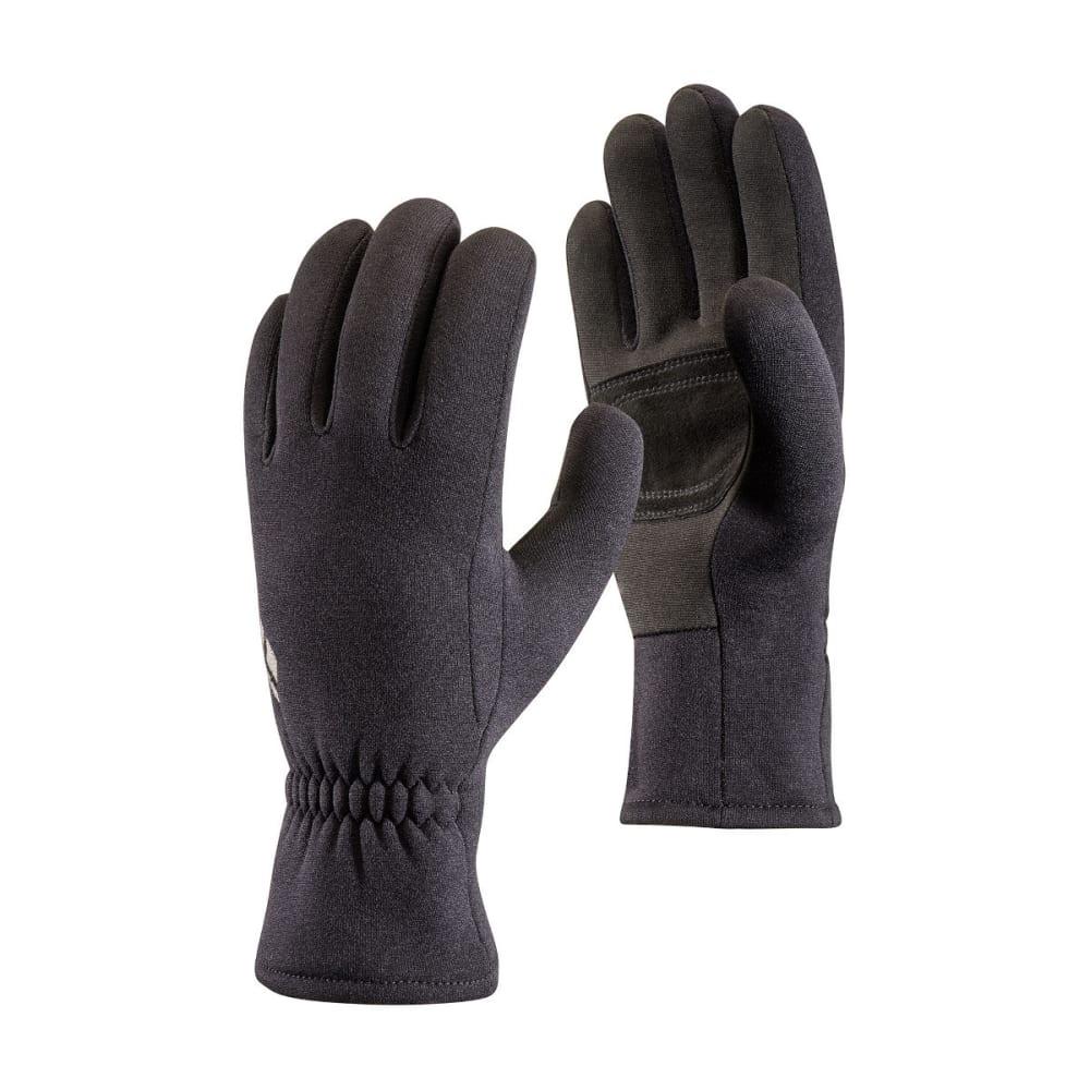 BLACK DIAMOND Men's Screentap Fleece Gloves - BLACK
