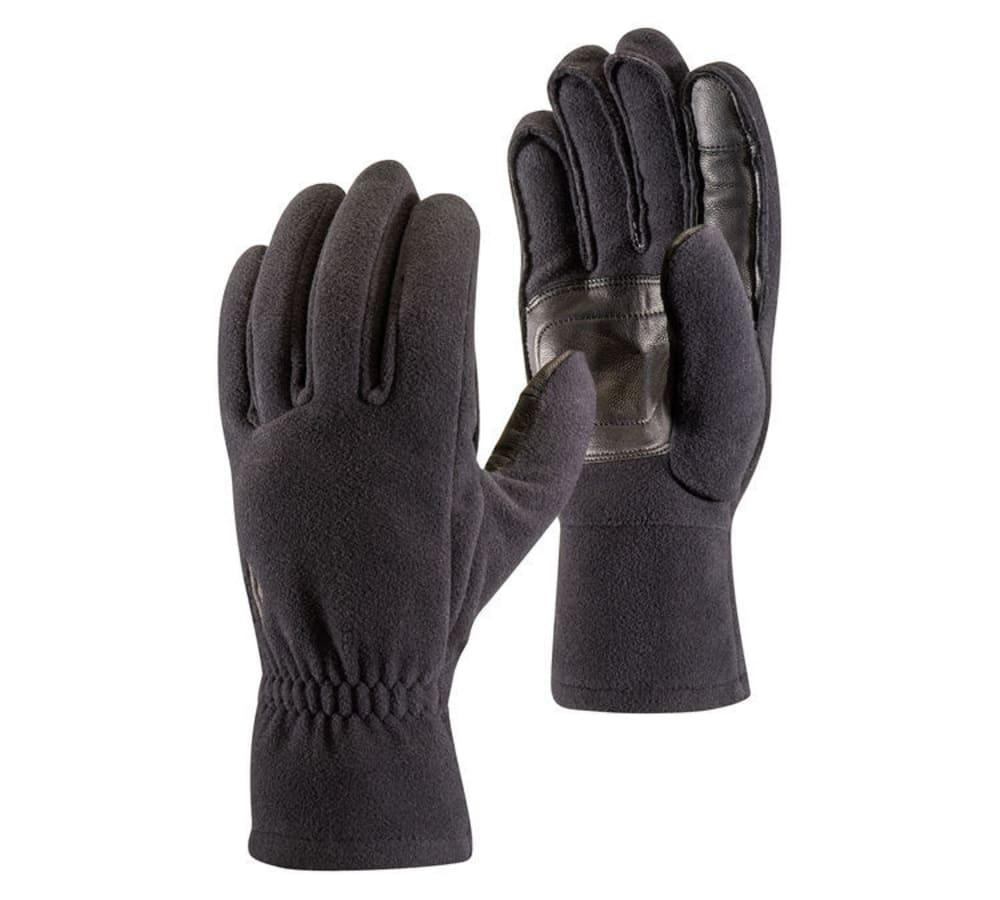 BLACK DIAMOND Men's Midweight Windbloc Fleece Gloves - BLACK