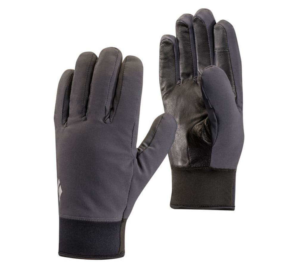 BLACK DIAMOND Men's Midweight Softshell Gloves - SMOKE