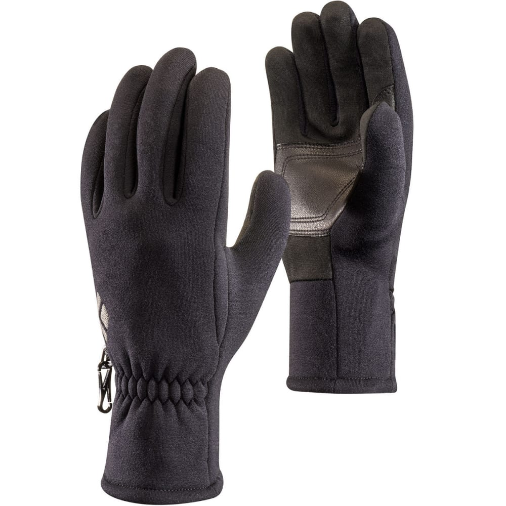 BLACK DIAMOND Men's Heavyweight Screentap Fleece Gloves - BLACK