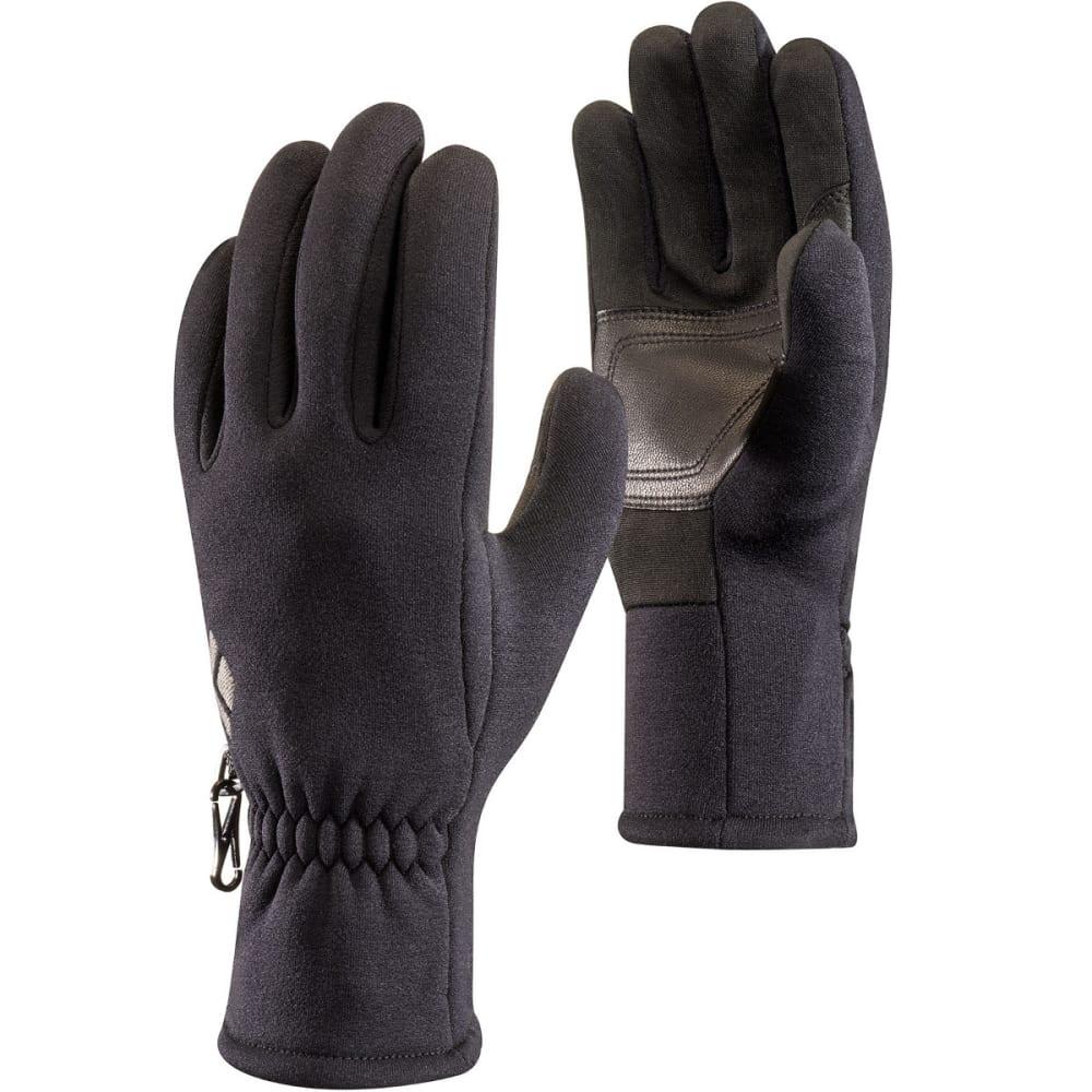 BLACK DIAMOND Men's Heavyweight Screentap Fleece Gloves - BLACK