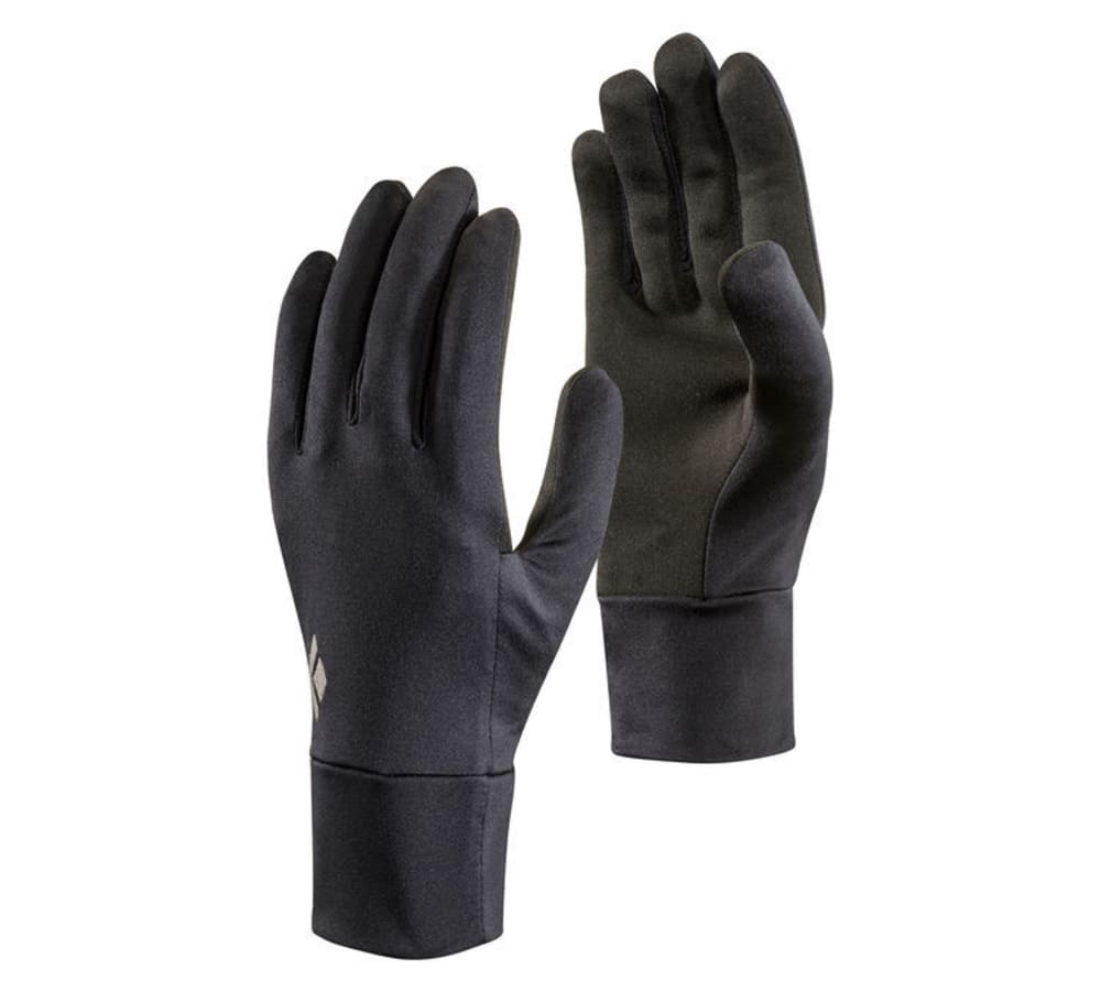 BLACK DIAMOND Men's Lightweight Screentap Fleece Gloves - BLACK