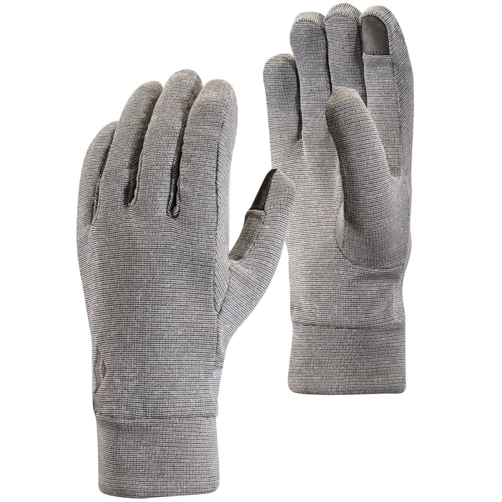 BLACK DIAMOND Lightweight Wooltech Gloves - SLATE