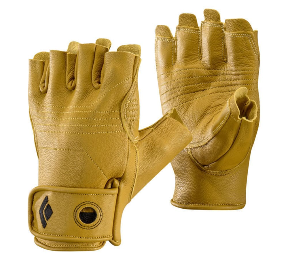 BLACK DIAMOND Stone Climbing Gloves - NATURAL
