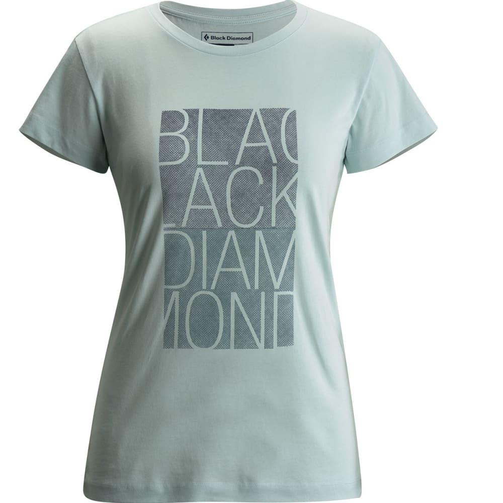 BLACK DIAMOND Women's SS BD Block Tee XS