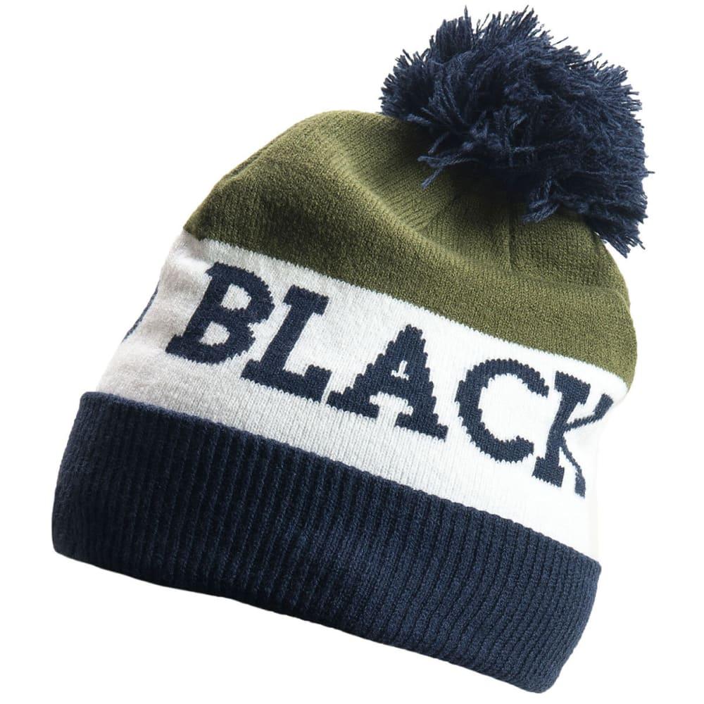 BLACK DIAMOND Tom Pom Beanie - CAPTAIN-WHITE-OLIVE