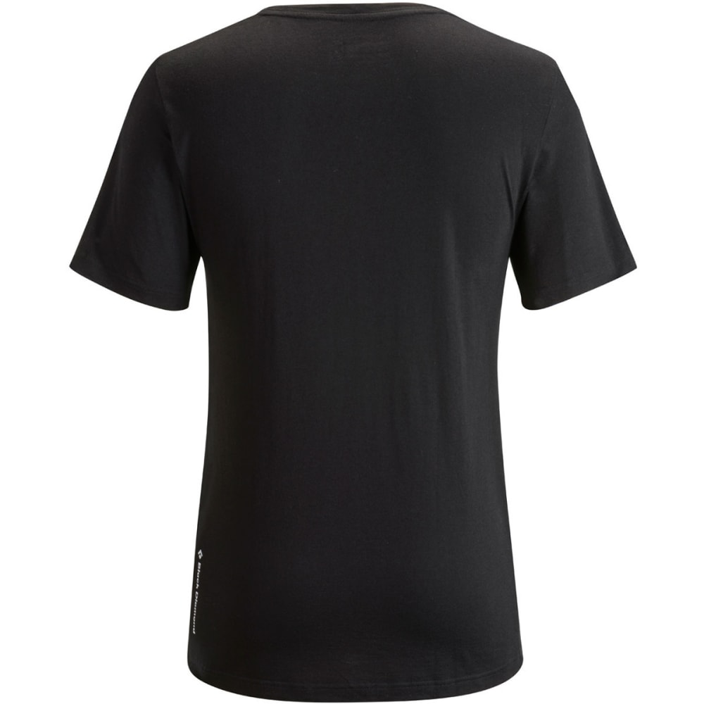 BLACK DIAMOND Men's Spaceshot Tee - BLACK