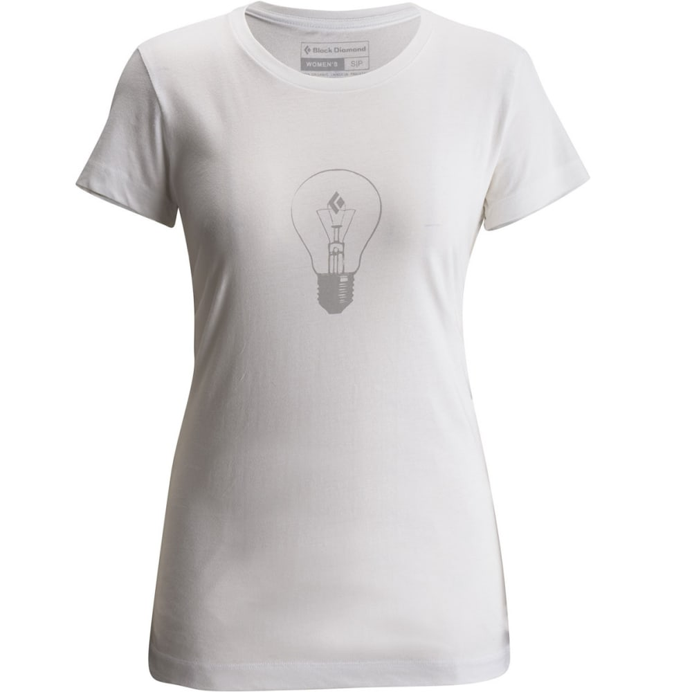 BLACK DIAMOND Women's SS BD Idea Tee - WHITE