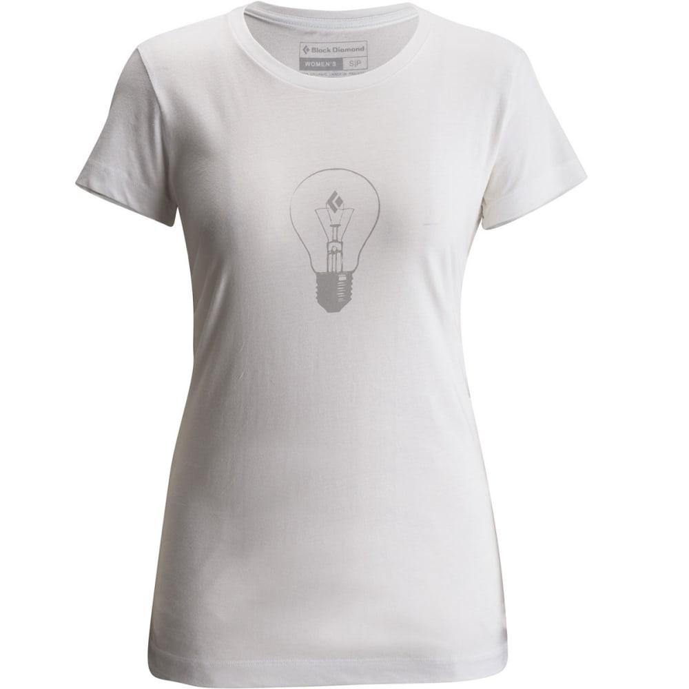 BLACK DIAMOND Women's SS BD Idea Tee - WHITE