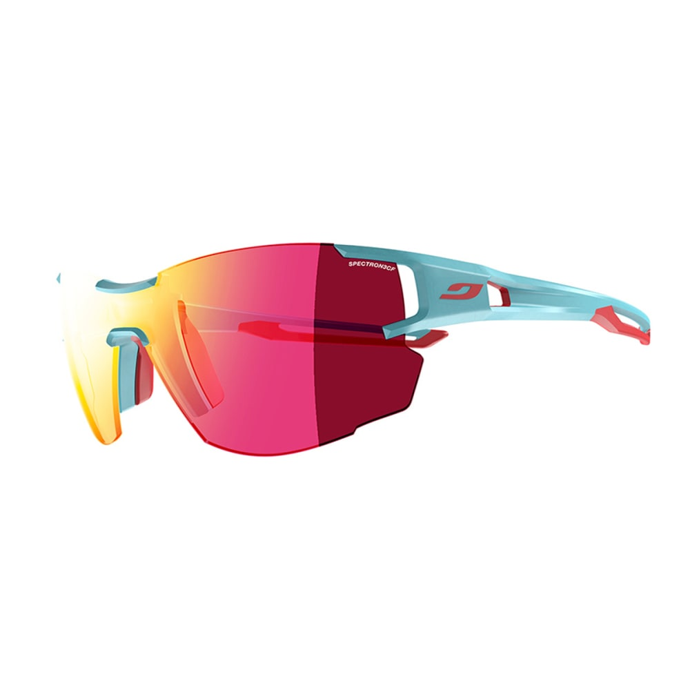 JULBO Aerolite Sunglasses with Spectron 3CF, Light Blue/Pink - LIGHT BLUE/PINK