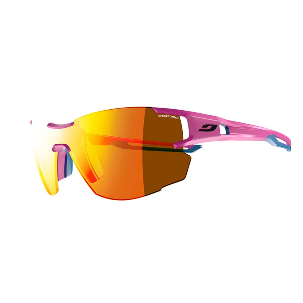 JULBO Aerolite Sunglasses with Spectron 3CF, Pink/Blue Cyan - PINK/BLUE CYAN