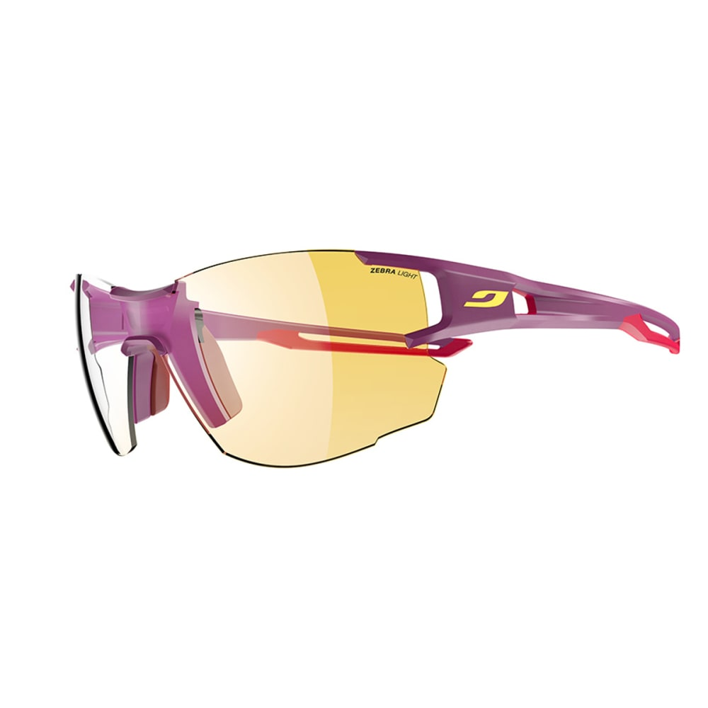 JULBO Aerolite Sunglasses with Zebra Light, Purple/Pink - PURPLE/PINK