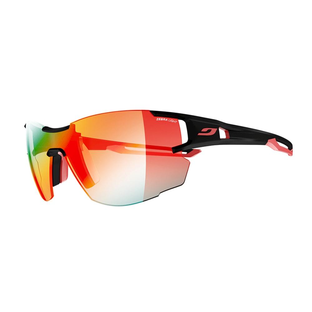 JULBO Aerolite Sunglasses with Zebra Light Fire, Black/Red - BLACK/RED