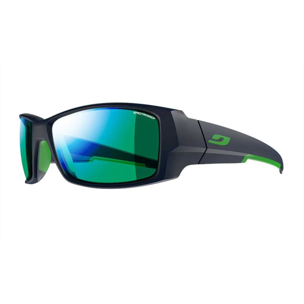 JULBO Armor Sunglasses with Spectron 3CF, Matt Blue/Green - MATT BLUE/GREY