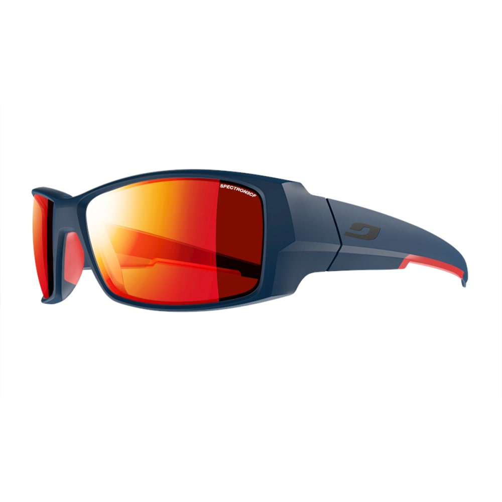 JULBO Armor Sunglasses with Spectron 3CF, Matt Blue/Red - MATT BLUE/RED