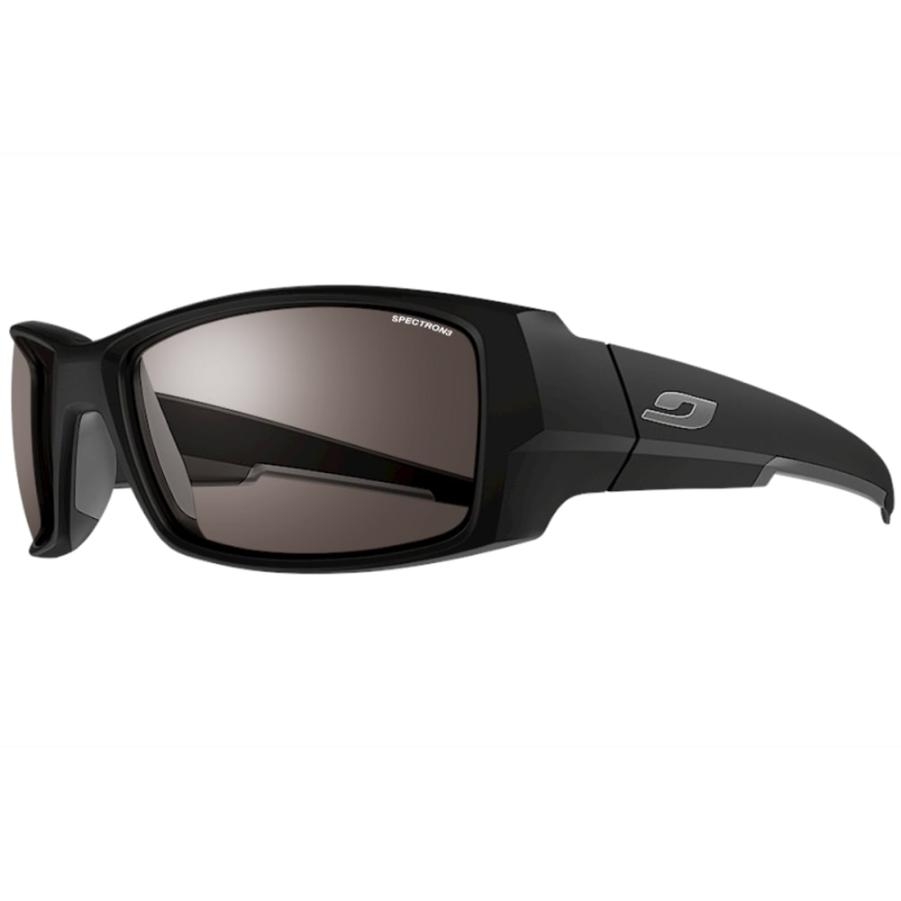 JULBO Armor Sunglasses with Spectron 3, Matt Black/Grey - BLACK/GREY